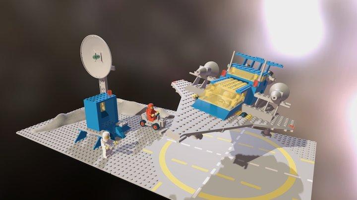 LEGO 497 Galaxy Explorer 3D Model