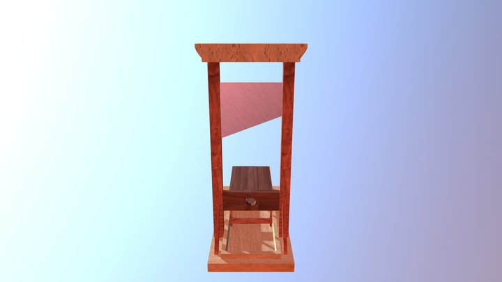 Guilhotina 3D Model