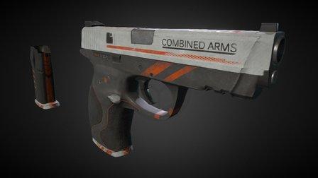 """MP40 """"Orange strike"""". Field tested variation. 3D Model"""