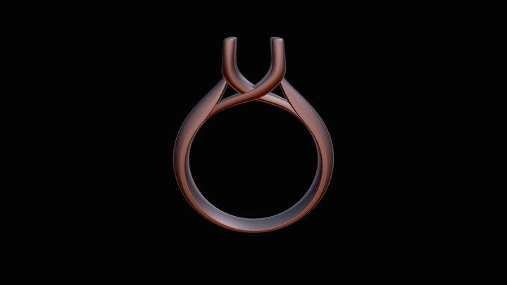 CA4- ENGAGEMENT RING 3D Model