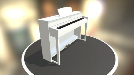 Yamaha CLP 535 3D Model