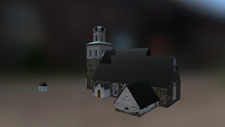 Church of the Holy Cross 3D Model
