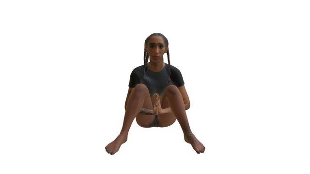 Mela Murder - Chromat Underbust Uniform Top 3D Model