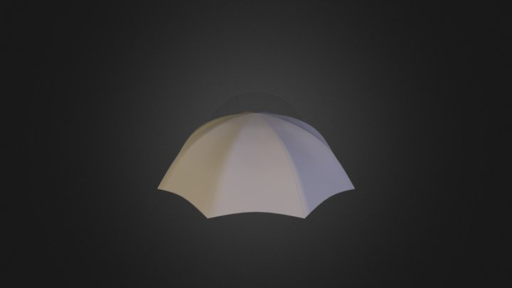 Umbrella Top 3D Model