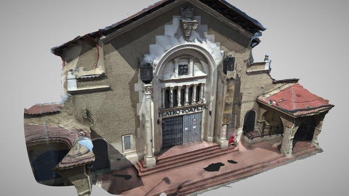 Teatro Pompeya Villa Alemana 3D Model