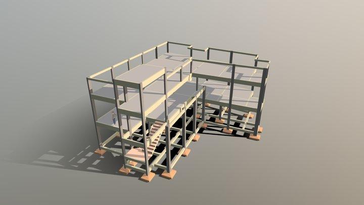 IGREJA ADVENTISTA DO SÉTIMO DIA - CARIRA-SE 3D Model