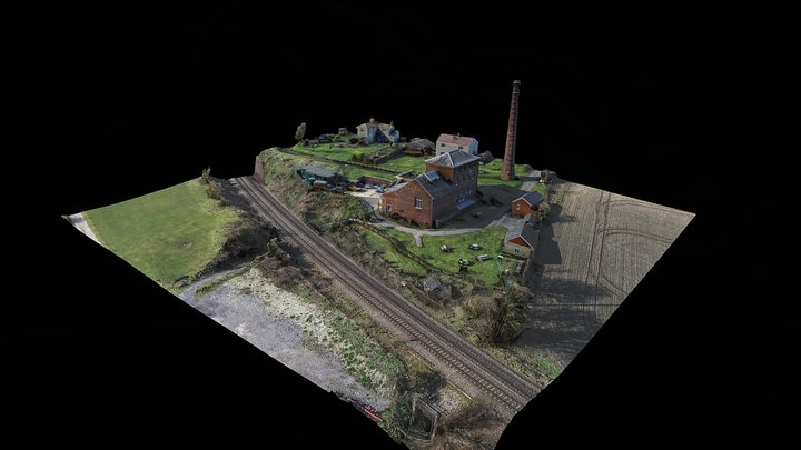 Crofton Beam Engines Pumphouse 3D Model