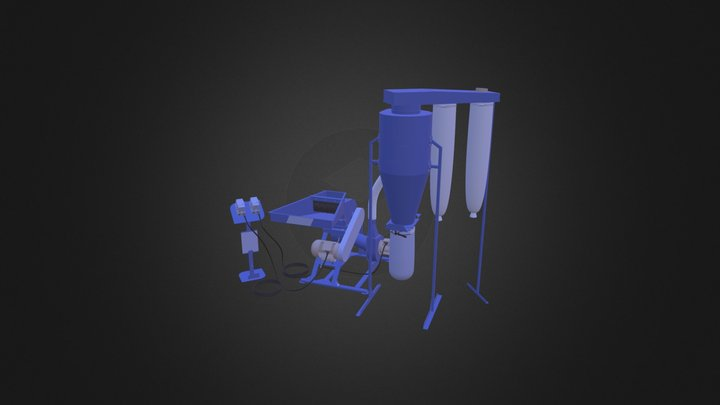 Hammer Mill Ceris MCC 7,5 CV 3D Model
