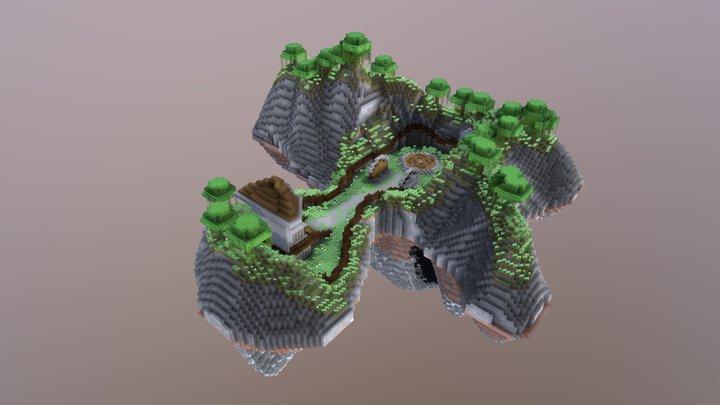 Portal Island 3D Model