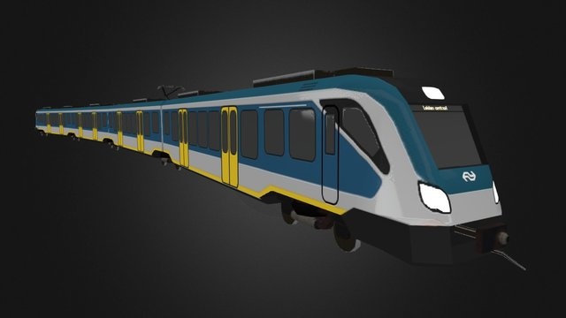 Sprinter Next Generation 3D Model