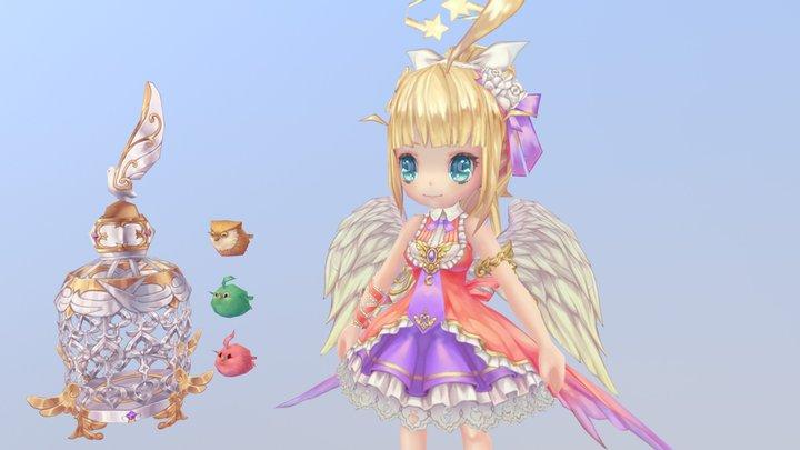angel-girl 3D Model