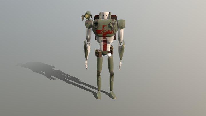 3D Robot Character - CT6035 3D Model