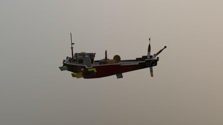 bote 3D Model