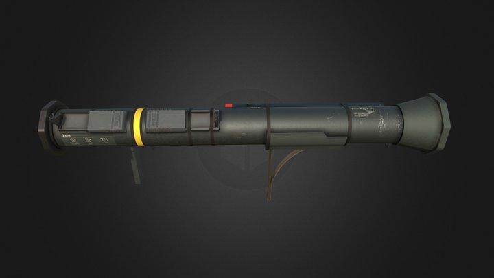 """M136  """"AT4"""" 3D Model"""