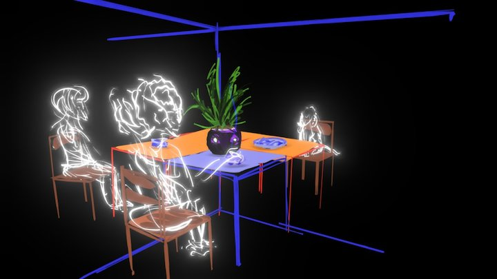 Nothing: Illusions installation proposal 3D Model
