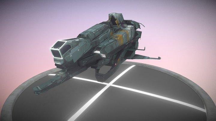 ship6 3D Model
