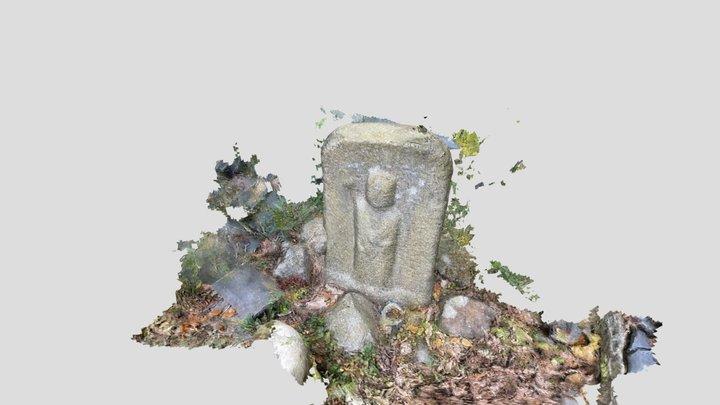 かいがけ地蔵 Kaigake Jizo(Stone Statue) 3D Model