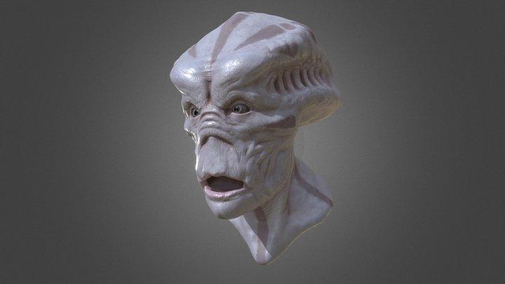 Alien Series II 3D Model