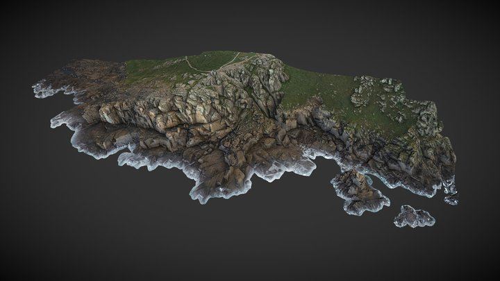 Sennen Cliffs Survey 3D Model