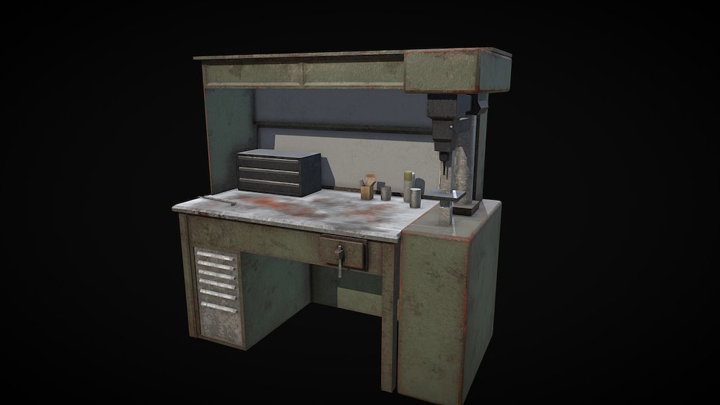 Prime T3 Rust Workbench 3D Model By Toast336 Toast336 Sketchfab Evergreenethics Interior Chair Design Evergreenethicsorg