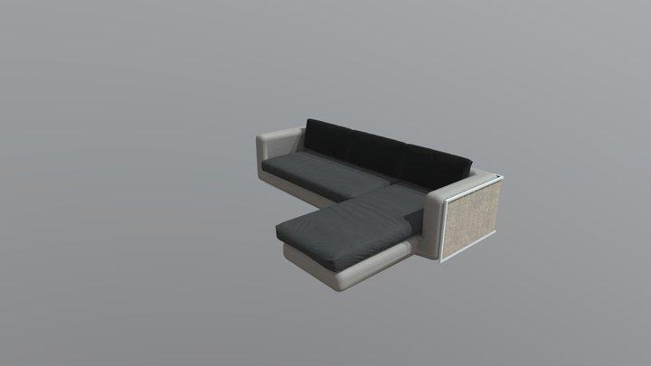 sofa_3 3D Model