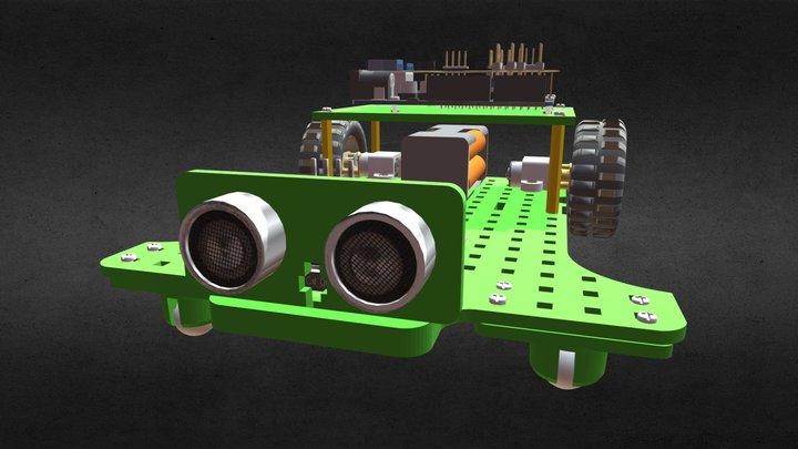 AlisRobotics- Bline Akıllı Araç 3D Model