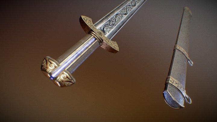 Sword-Kladenets 3D Model