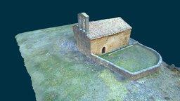 Romanesque | Romànic, Sant Martí de Guixers 3D Model