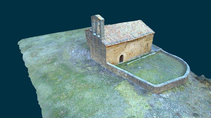 Sant Martí de Guixers (Lleida) 3D Model
