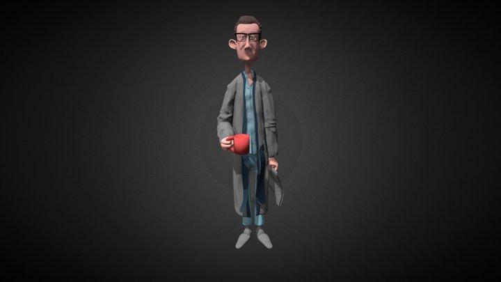 Bob4 Paint 006 3D Model