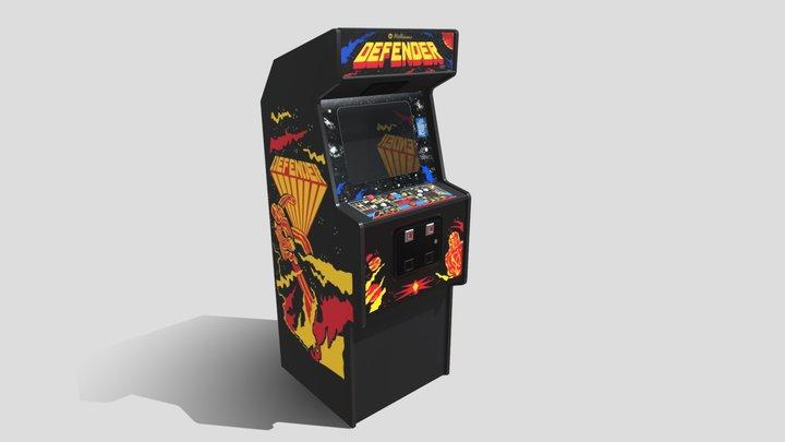 Defender Arcade 3D Model