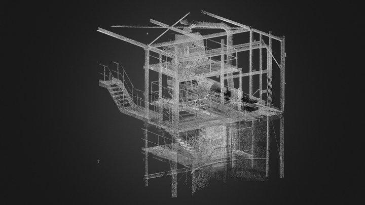 Dopravník 3D Model