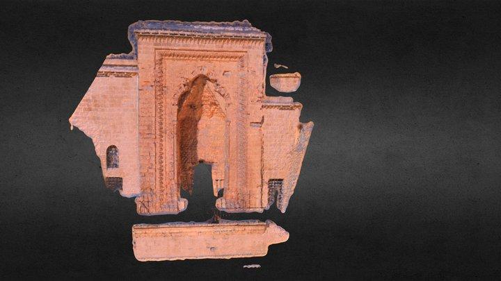 Mardin Kasımiye  Medresesi Kapısı 3D Model