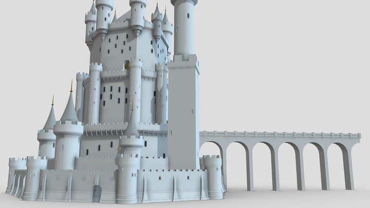 Castle 4 3D Model