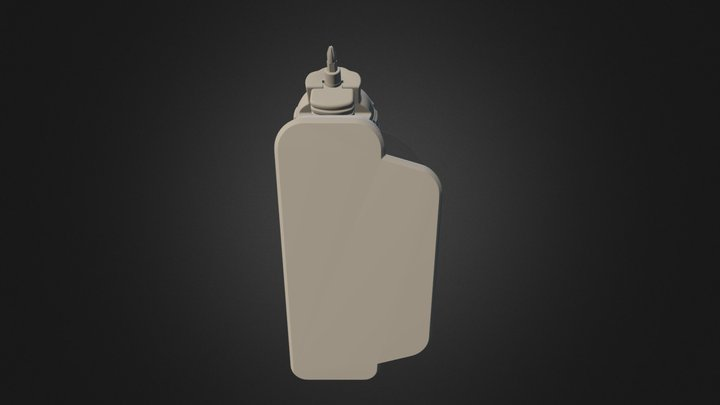 Black & Decker Screwdriver 3D Model