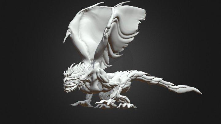 Dragao Escamoso 3D Model