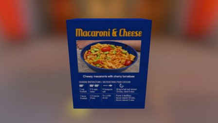 KRAM Macaroni & Cheese 3D Model