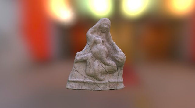 Terracotta Figurine 3D Model