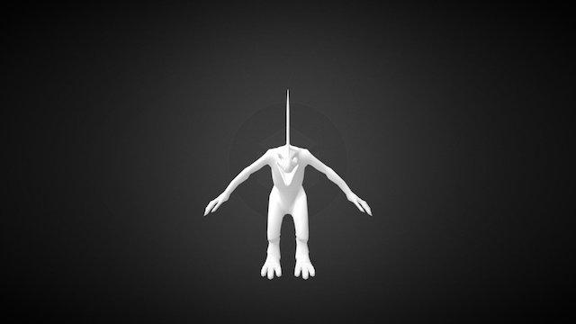 Fan Model - Skink Skirmisher v 2.0 - Low-Poly 3D Model