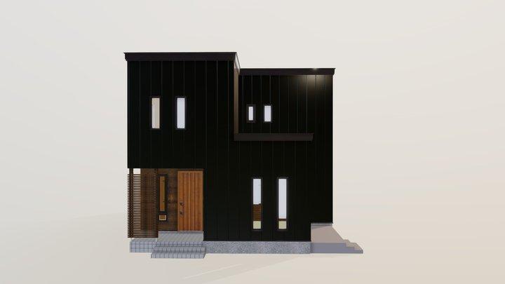nearly ZEH 北4条モデルハウス 3D Model