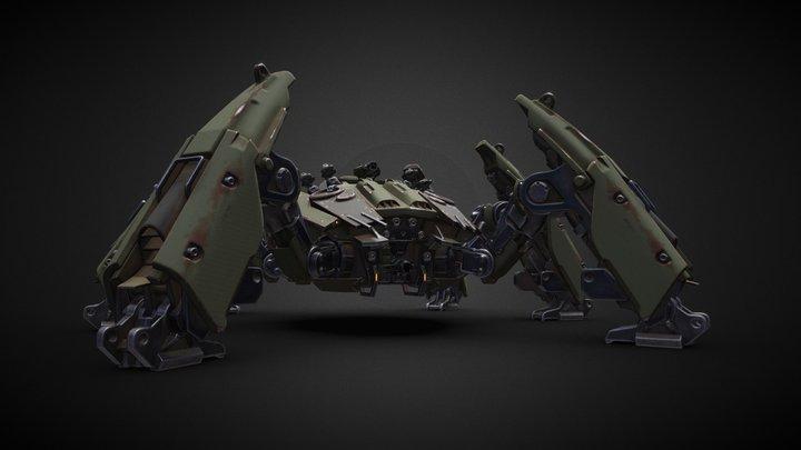 A.I.M 3 War Protocol. Sespieda Strider 3D Model