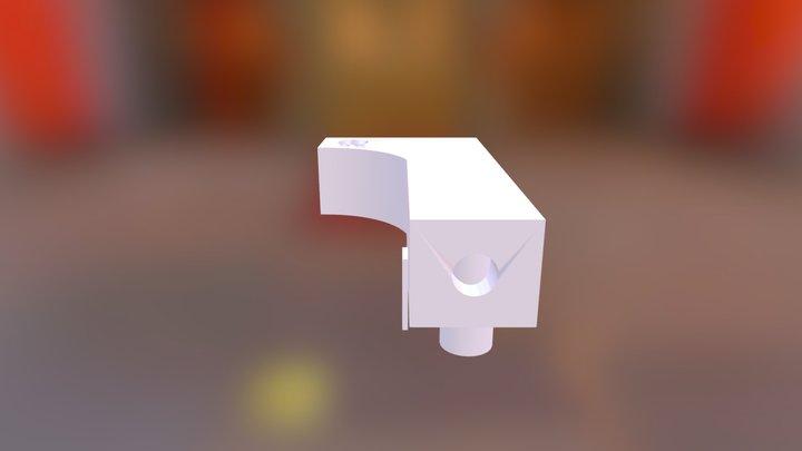 Master Cylinder Adapter To Reservoir V4 3D Model