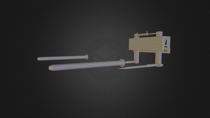 R B Gabel 3D Model