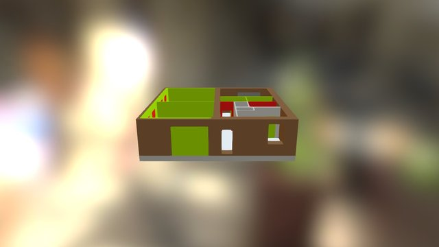 Гараж+ 3D Model