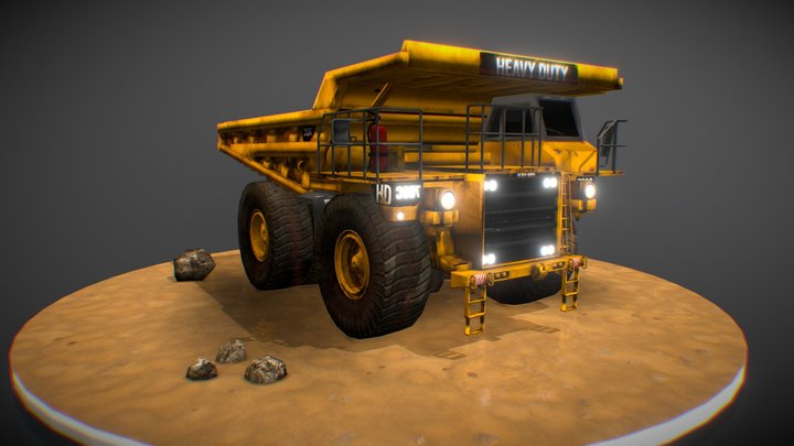 Off Road Caterpillar 3D Model