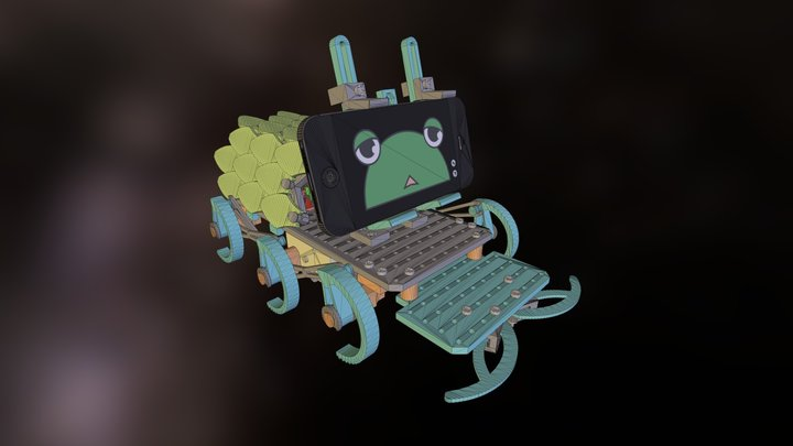 Shellmo2 prototype v1 3D Model