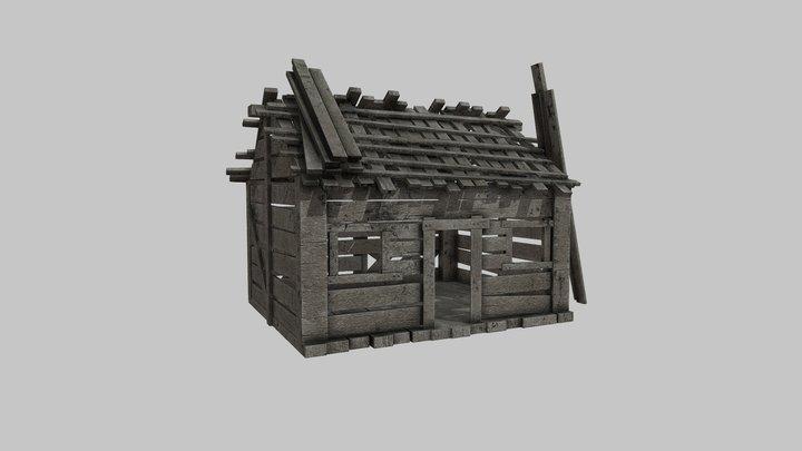 Old House wooden 3D Model