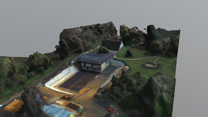 Chantier maison /musée J Monnet 3D Model
