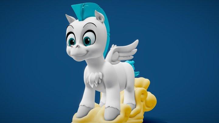 Baby Pegasus (Hercules 1997) 3D Model