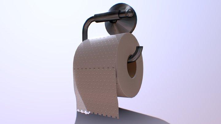 ToiletRoll 3D Model